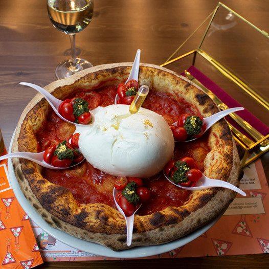 pizza figaza 24k gold